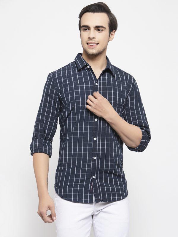 Navy Blue shirts for men