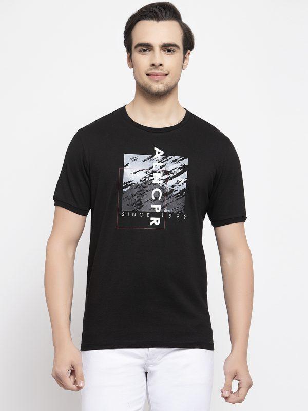 Black Tshirt For Men, Half Sleeve black Tshirt for men at best price, buy summer tshirts for men, cotton tshirt for men, buy tshirt online