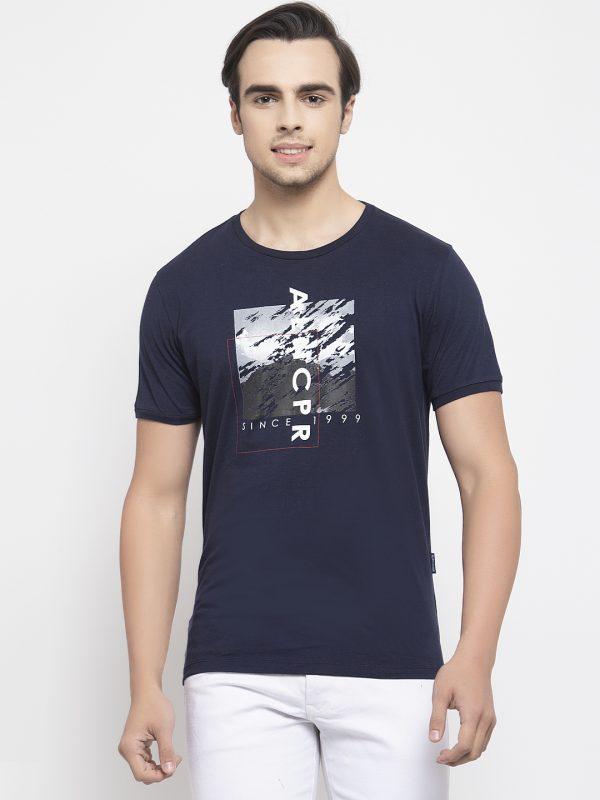 Navy Color T-shirt For Men, Mens Navy Color T-shirt at Best Price, Mens tshirt at best price. Mens tshirt for summer wear. half tshirt