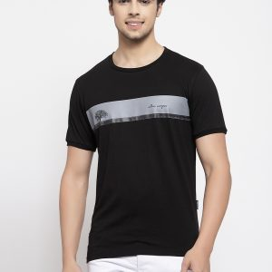 Black t-shirt For men
