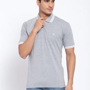 Grey Polo Tshirts For Men